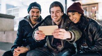 Selbstauslöser aktivieren bei Android- und iPhone-Kameras