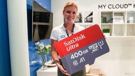SanDisk 400 GB microSD: Mehr Speicher...