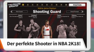 NBA 2K18: Shooting Guard Build - Limitless Range