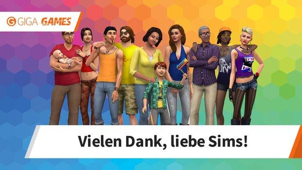 Die Sims: Danke für das LGBTQI-Engagement