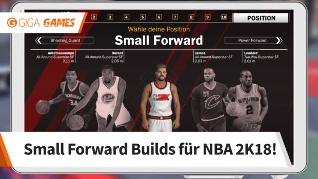 NBA 2K18: Small Forward Build - LeBron 2.0