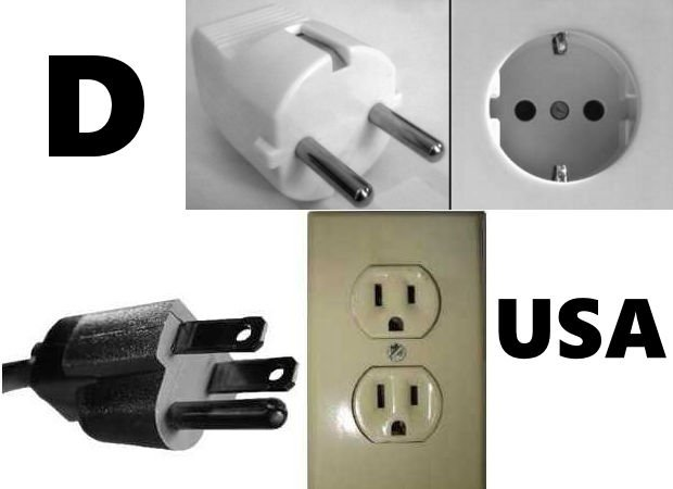 stecker-usa-d