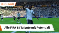 FIFA 18: Junge Talente mit Potential im Karrieremodus