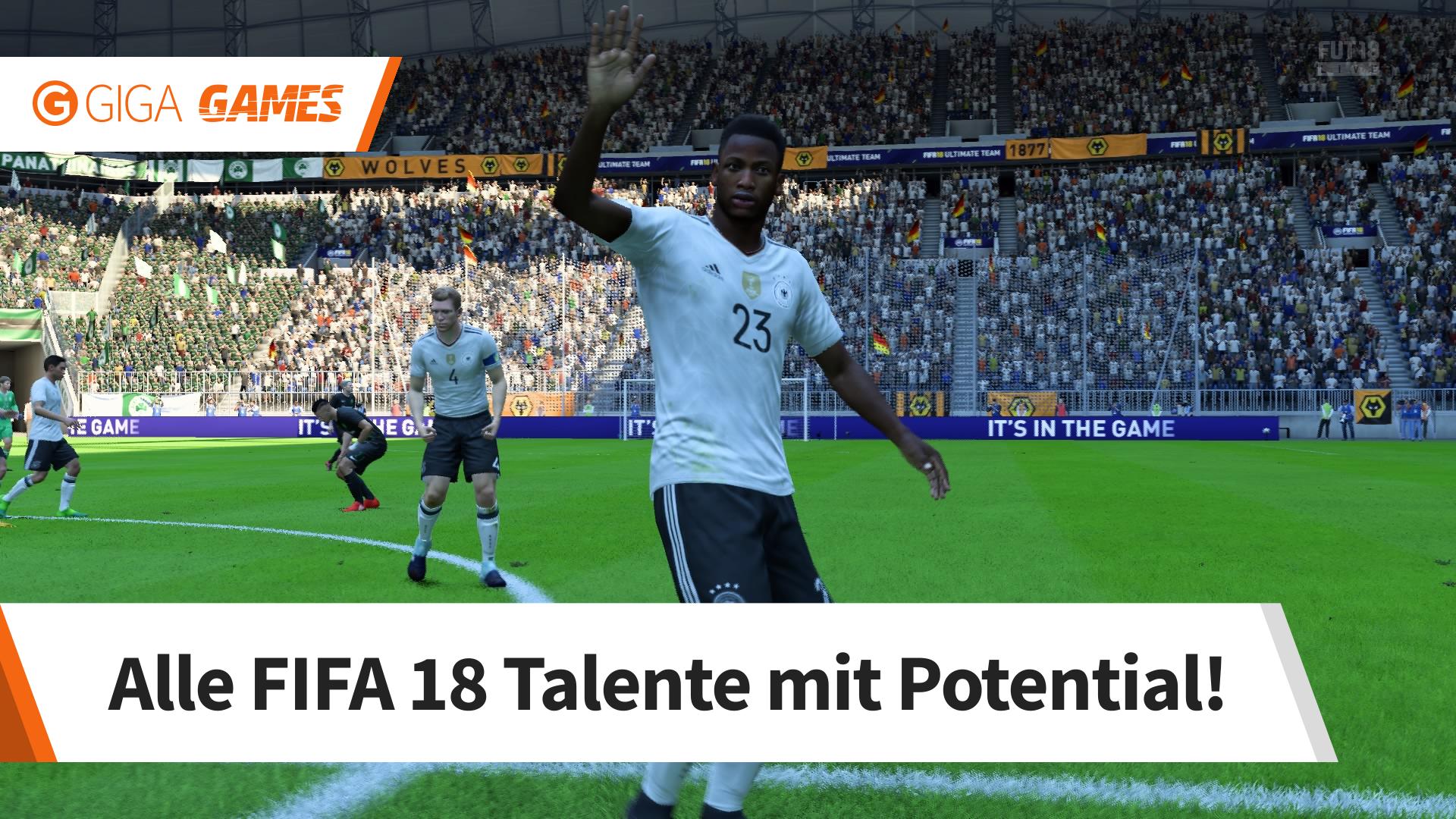 Fifa 18 Junge Talente Mit Potential Im Karrieremodus Giga