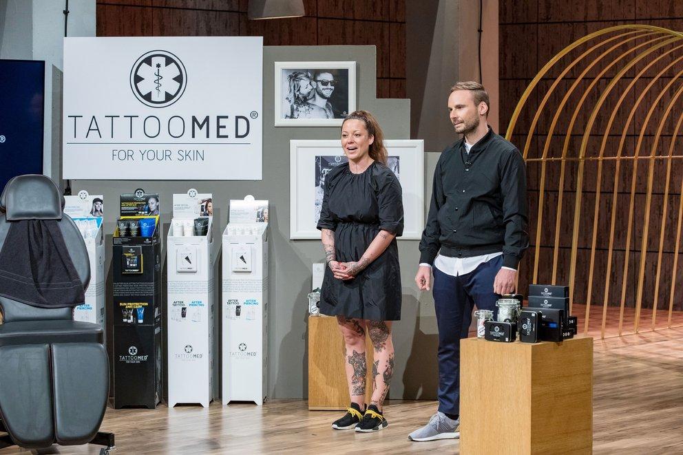 """TattooMed von """"Die Höhle der Löwen"""" kaufen Pflegeserie gegen verblasste Tattoos"""