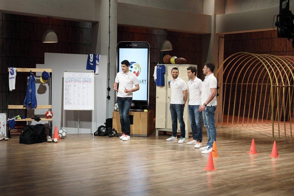 """Teamwallet bei """"Die Höhle der Löwen"""" erfolgreich: Digitale Mannschaftskasse als App"""