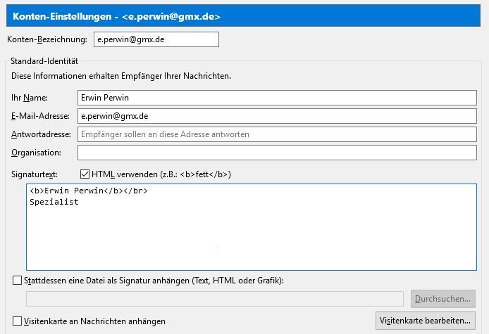 E Mail Signatur Erstellen So Geht S In Outlook Thunderbird