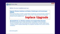 """Inplace Upgrade durchführen (Windows """"überinstallieren"""") – so geht's"""