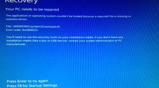 Lösung: 0xc0000225 Windows-Bootfehler