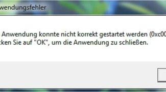 Lösung: 0xc0000005 – Die Anwendung konnte nicht korrekt gestartet werden