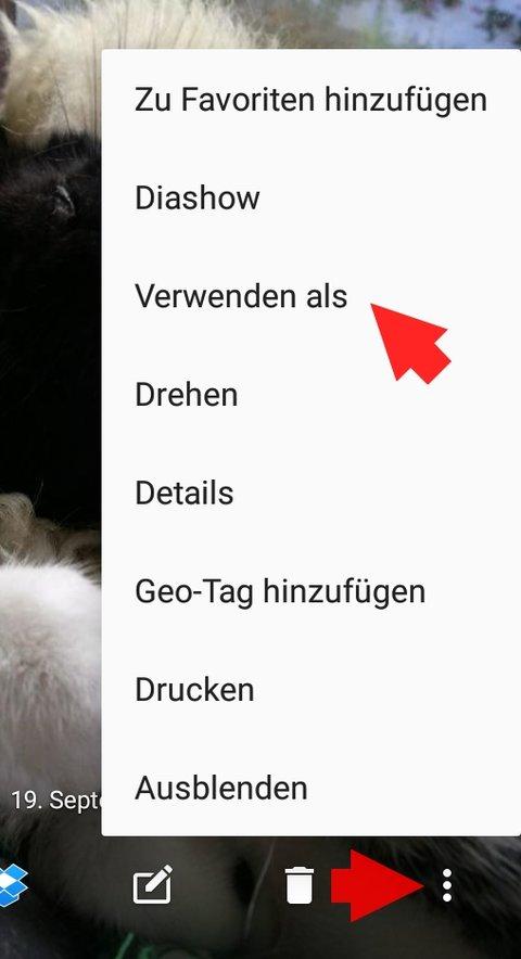 Android Hintergrundbild aendern 01