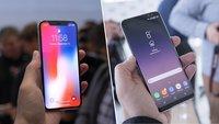 Kurios: Wie Samsung mehr am iPhone X als am Galaxy S8 verdient