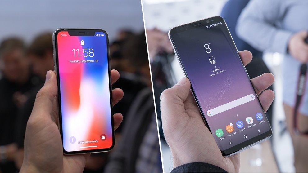 Reparierbarkeit: Samsung Galaxy S8 verliert deutlich gegen iPhone X