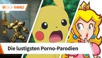 7 Porno-Parodien von Videospielen, die du so schnell nicht vergisst