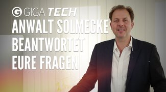 Exklusiv für GIGA: YouTube-Anwalt Christian Solmecke beantwortet eure Fragen