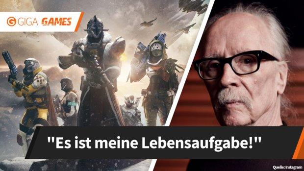 Destiny 2: Horror-Urgestein John Carpenter beweist – Du bist nie zu alt fürs Zocken