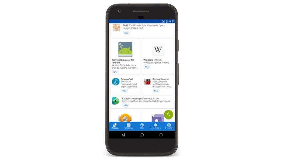 F-Droid in neuer Version: Android ohne Google verwenden