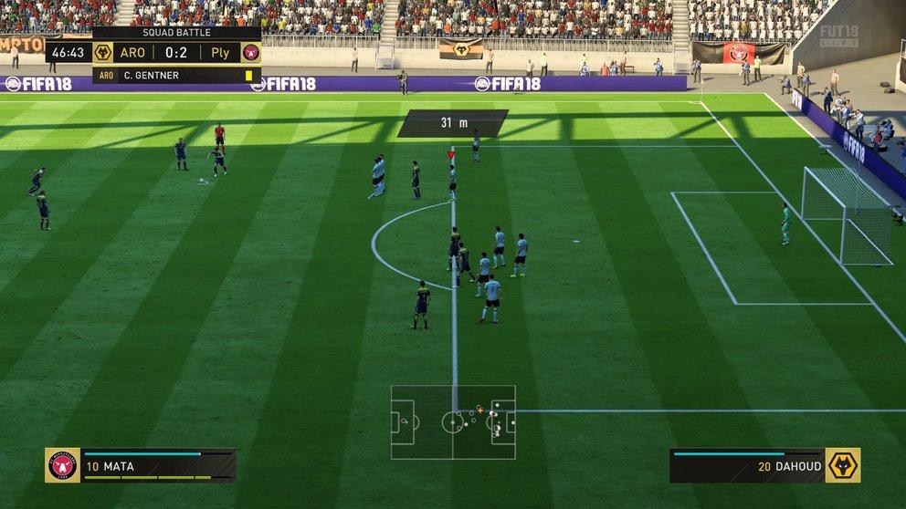 FIFA 18 Freistöße