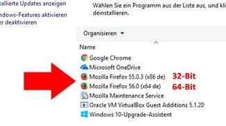 Habe ich Firefox 32- oder 64-Bit? – Herausfinden & upgraden