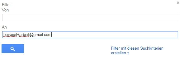 Gmail Alias Filter An