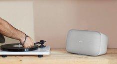 Google Home Max im Preisverfall: WLAN-Lautsprecher fürs Wohnzimmer im Doppelpack günstiger