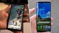 Google Pixel 2 XL und Samsung Galaxy S8 im Vergleich: Kampf der Android-Ikonen