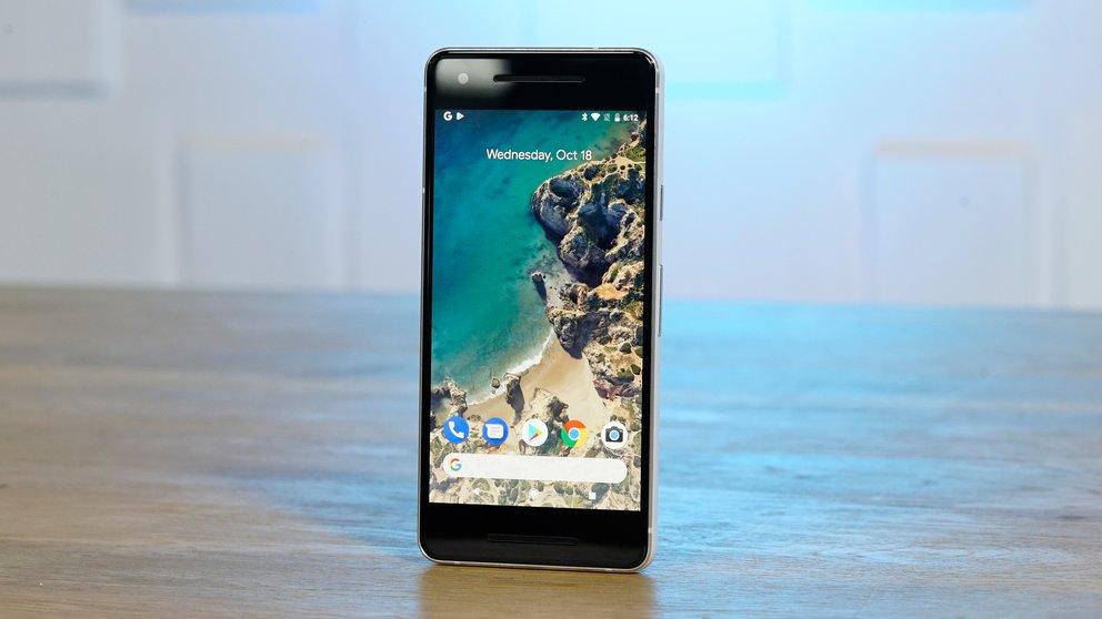 Google Pixel 2 mit geheimem Wunder-Chip und Menü-Button