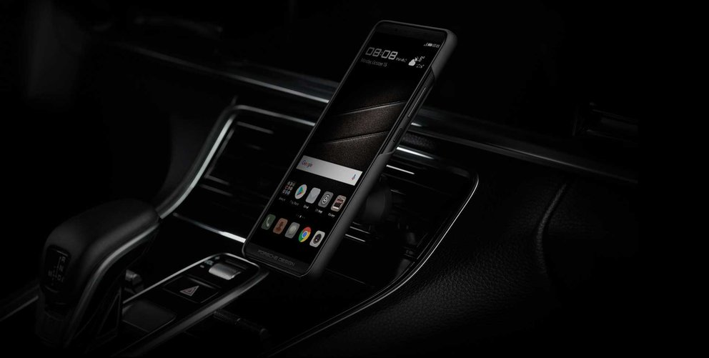 Inspiriert vom 911er: Das Porsche Design Huawei Mate 10 Pro (Quelle: Huawei)