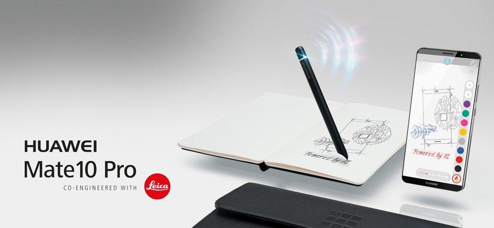 Huawei-Mate-10-Pro-Vorbesteller-Aktion-Moleskine-Schreibset