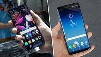 Huawei Mate 10 Pro und Galaxy Note 8 im Vergleich: Wer ist der Smartphone-König?
