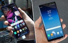 Huawei Mate 10 Pro und Galaxy...