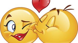 Kuss-Smiley: Zeichen auf WhatsApp, Facebook mit und ohne Tastatur nutzen