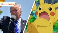 Mann im Pikachu-Kostüm wollte ins Weiße Haus eindringen