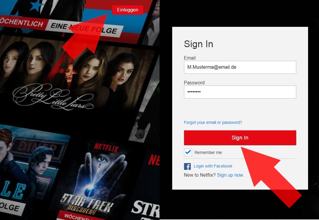 Netflix Ausloggen aus allen Geräten – wenn Fremde euren Account ...