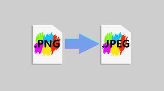 PNG in JPG umwandeln – Bilder am PC & online konvertieren