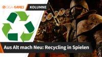 Recycling: Auch Spiele lassen sich sinnvoll wiederverwerten (Kolumne)
