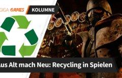 Recycling: Auch Spiele lassen...