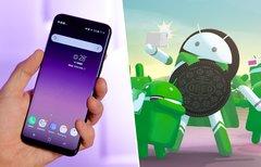 Android 8.0 für das Galaxy S8...