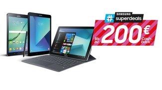 Samsung-Tablet kaufen und bis zu 200 Euro Geld zurück erhalten – so funktioniert's