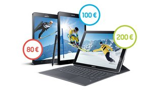 Samsung-Tablet kaufen und bis zu 200 Euro zurück erhalten