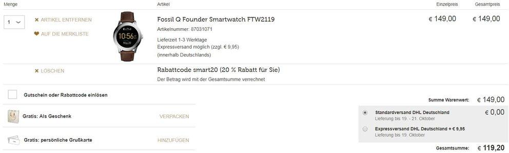 Smartwatch-Sale-Christ-Warenkorb