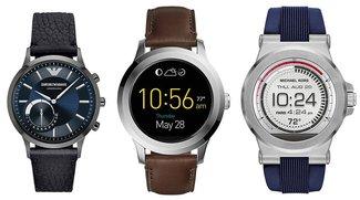 Smartwatch-Sale: 20 % Rabatt auf Fossil, Armani & Michael Kors