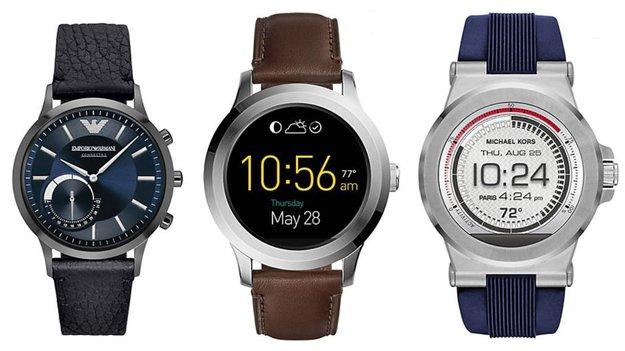 Smartwatch-Sale bei Christ: Bis zu 33 % Rabatt auf Fossil, Armani & Michael Kors