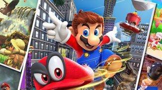 Super Mario Odyssey: Frische Gameplay-Szenen im neuen Trailer
