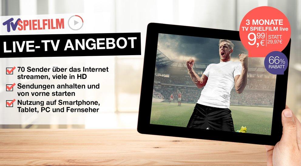WM-Quali-Angebot: 3 Monate TV Spielfilm live für nur 9,99 €