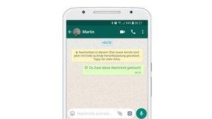 WhatsApp: Nachrichten zurückholen und löschen – Schritt für Schritt im Video erklärt