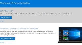 Windows 10 Fall Creators Update: Download und Installation erzwingen