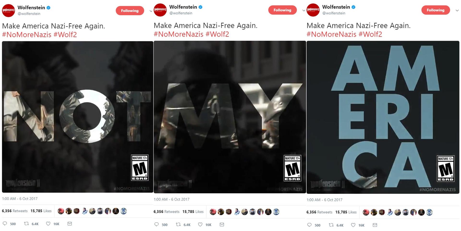 Wolfenstein 2: The New Colossus - Kampagne mit politischen Aussagen