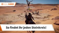 Assassin's Creed Origins: Alle Steinkreise - Fundorte im Video