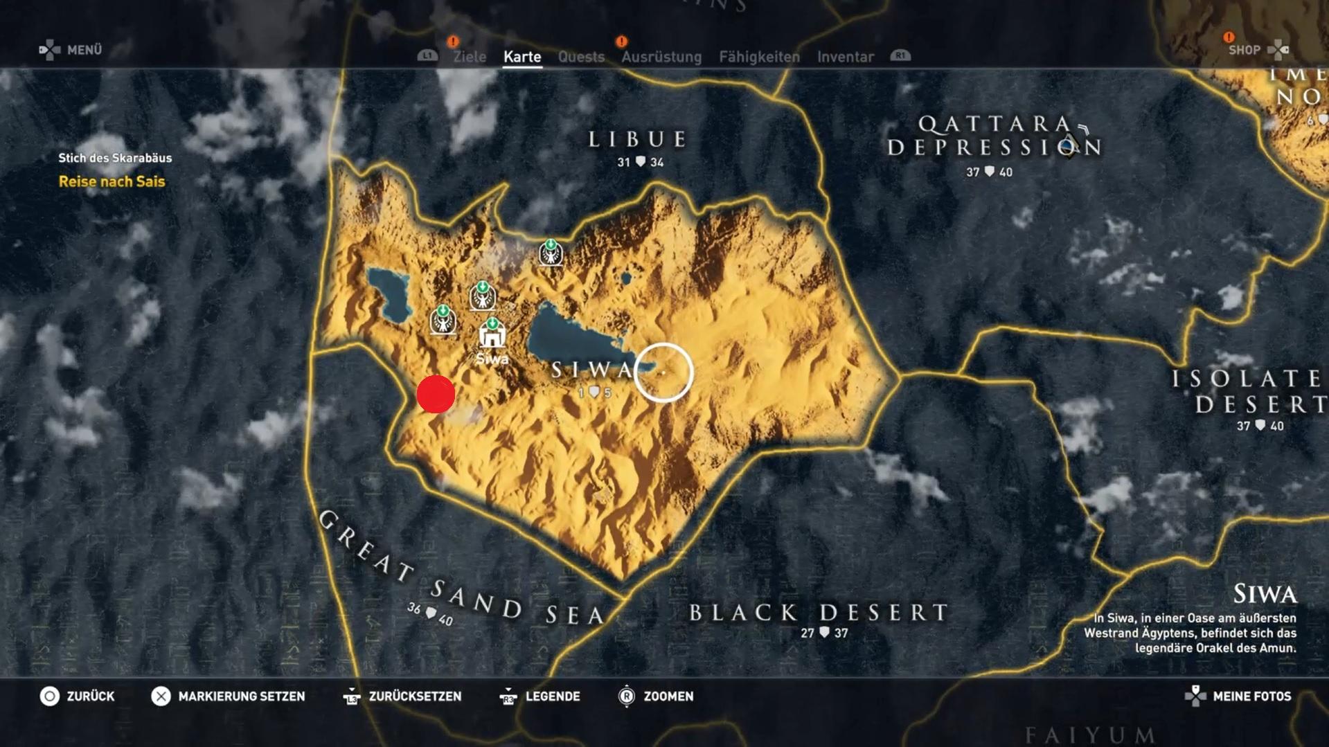 Assassin S Creed Origins Alle Steinkreise Fundorte Im Video
